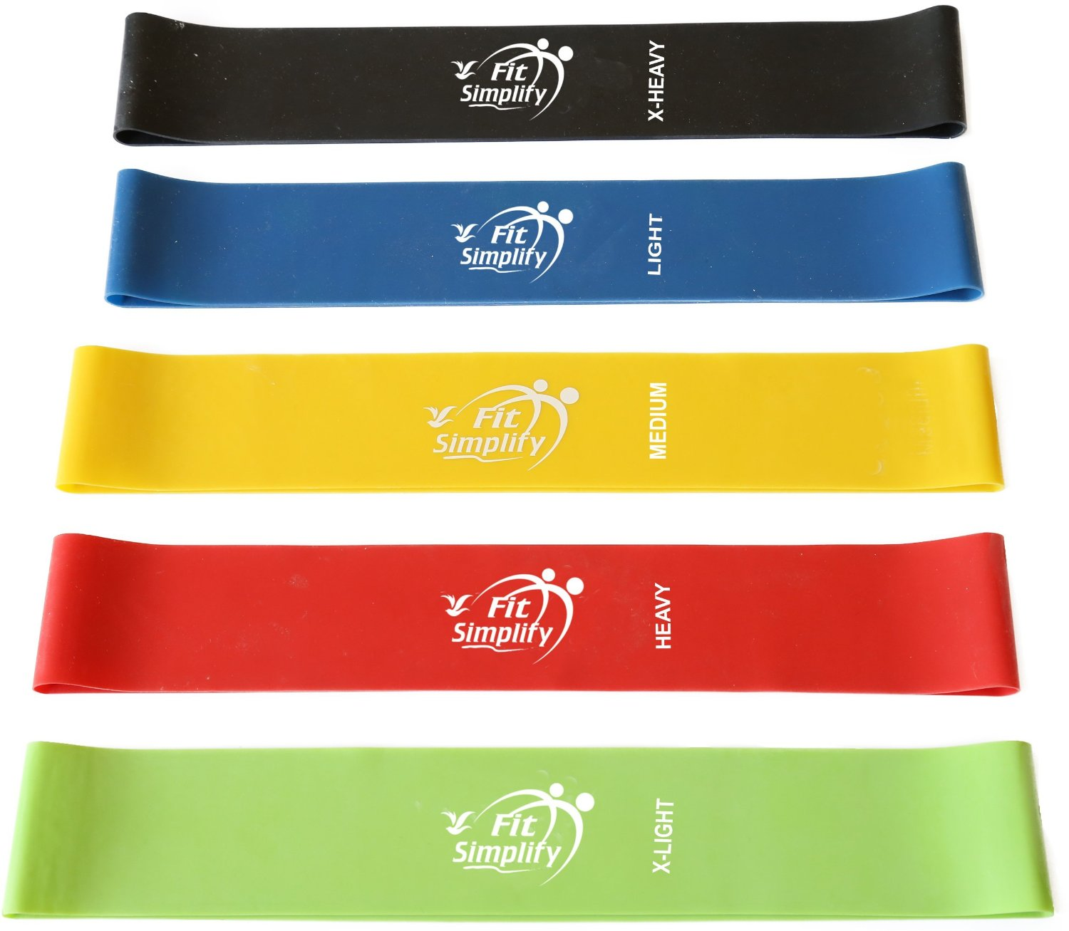 Fit Simplify Resistance Exercise Bands (5)